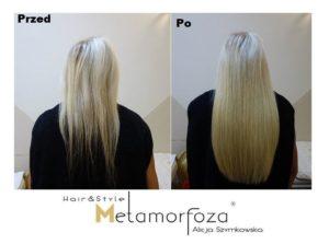 Przedłużanie włosów włosy dziewicze Katowice
