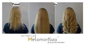 Przedłużanie włosów i stylizacja Katowice