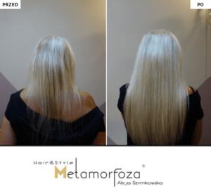Przedłużanie włosów włosy dziewicze