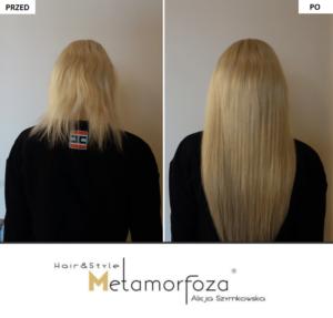 Przedłużanie włosów Wrocław , włosy dziewicze
