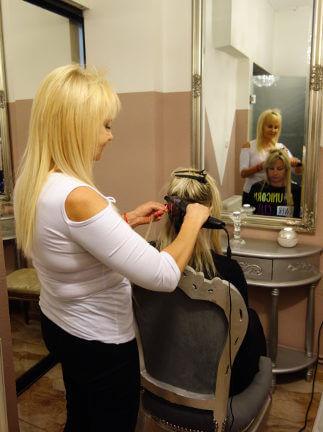 Alicja Szymkowska Przedłużanie włosów