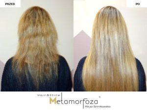 Przedłużanie włosów , włosy dziewicze