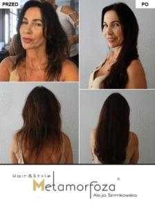 Przedłużanie włosów , włosy dziewicze , Kraków